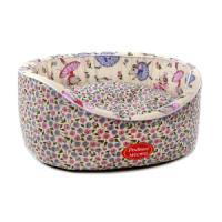 Фотография товара Лежак для собак Родные Места Премиум №2 Цветочные мышки, размер 49х43х17см.