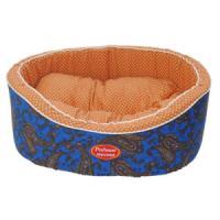 Фотография товара Лежак для собак Родные Места Премиум №2 Огурцы синие, размер 49х43х17см.