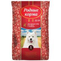 Фотография товара Корм для собак Родные корма 22/10, 16.38 кг, говядина