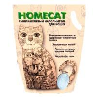 Фотография товара Наполнитель для кошачьих туалетов Homecat Стандарт, 3.5 кг
