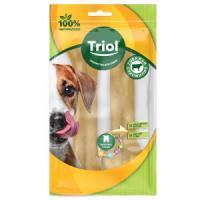 Фотография товара Лакомства для собак Triol, 85 г, сыромятная кожа, 2 шт.