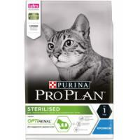Фотография товара Корм для кошек Pro Plan Sterilised, 3 кг, кролик и курица