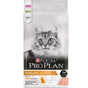 Корм для кошек Pro Plan Elegant Adult, 10 кг, лосось