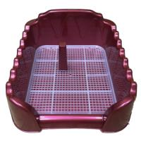 Фотография товара Лоток для собак Homepet, размер 40х40см., красный