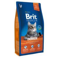 Фотография товара Корм для кошек Brit Premium Cat Indoor, 8 кг, курица и печень