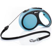 Фотография товара Поводок-рулетка для собак Flexi New Comfort M Cord, синий