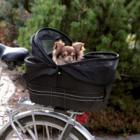 Фотография товара Сумка-переноска для собак Trixie Bicycle Bag, размер 29х42х48см., черный