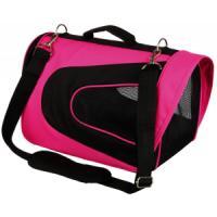 Фотография товара Сумка переноска для собак и кошек Trixie Alina, размер 22х23х35см., розовый / черный