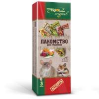 Фотография товара Корм для грызунов Triol Original, овощи, мед, фрукты, хитин, злаки, семена