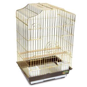 Клетка для птиц Triol 6112G, 4.375 кг, размер 46.5х36х71см.