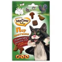 Фотография товара Лакомство для кошек Мнямс Пир охотника, 60 г, утка, кролик, дичь