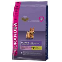 Фотография товара Eukanuba Puppy Small Breed корм для щенков, 3 кг: купить с доставкой