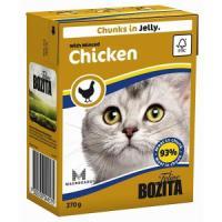 Фотография товара Корм для кошек Bozita Chicken, 370 г, рубленая курица