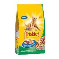 Фотография товара Корм для кошек Friskies, 2 кг, кролик с курицей и овощами