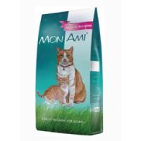 Фотография товара Корм для кошек Mon Ami, 10 кг, мясное ассорти