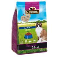 Фотография товара Корм для кошек MEGLIUM Cat Adult, 1.5 кг, говядина