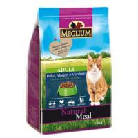 Фотография товара Корм для кошек MEGLIUM Cat Adult, 1.5 кг, говядина c курицей и овощами