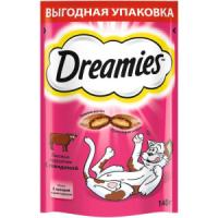 Фотография товара Лакомство для кошек Dreamies, 140 г, говядина