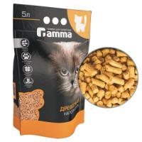 Фотография товара Наполнитель для кошачьего туалета Гамма Крупные гранулы, 3 кг