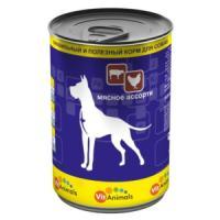 Фотография товара Корм для собак VitAnimals, 410 г, мясное ассорти