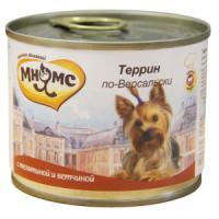 Фотография товара Корм для собак Мнямс, 200 г, телятина с ветчиной