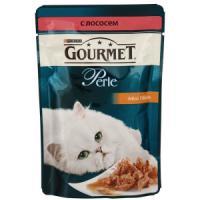 Фотография товара Корм для кошек Gourmet Perle, 85 г, лосось