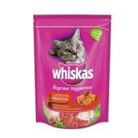 Фотография товара Сухой корм для кошек Whiskas Паштет, 800 г, говядина с ягненком и кроликом