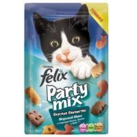 Фотография товара Лакомство для кошек Felix Party Mix, 20 г, Лосось с треской и форелью