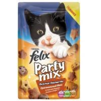 Фотография товара Лакомство для кошек Felix Party Mix, 20 г, курица с печенью и индейкой