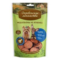 Фотография товара Лакомство для собак мини-пород Деревенские лакомства, 55 г, ягненок