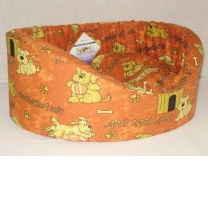Лежак для собак Бобровый дворик Эксклюзив, размер 3, размер 55х43х16см., цвета в ассортименте
