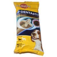 Фотография товара Лакомство для собак Pedigree Denta Stix Medium, 180 г, 7 шт.