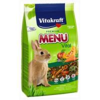 Фотография товара Корм для кроликов Vitakraft Menu Vital, 1 кг, злаки, экстракты овощей, фрукты