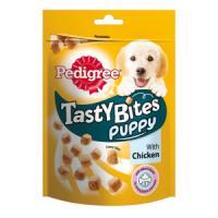 Фотография товара Лакомство для щенков Pedigree Tasty Bites Puppy, 125 г, курица