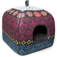 Фотография товара Домик для собак и кошек Родные Места Звезда Востока, размер 33х33х42см.