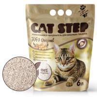 Фотография товара Наполнитель для кошачьих туалетов Cat Step Tofu Original, 2.7 кг