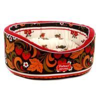 Фотография товара Лежак для собак Родные Места Премиум №2 Хохлома, размер 49х43х17см.