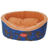 Фотография товара Лежак для собак Родные Места Премиум №1 Огурцы синие, размер 43х38х15см.
