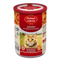 Фотография товара Корм для кошек Родные корма По-княжески, 410 г, ягненок