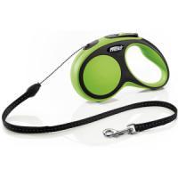 Фотография товара Рулетка для собак Flexi Flexi New Comfort S, зеленый