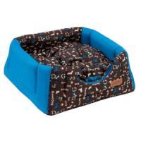 Фотография товара Домик-трансформер для собак и кошек Katsu Yohanka shine Dogs, размер 40х40х35см., синий