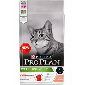 Корм для кошек Pro Plan Sterilised Senses, 1.5 кг, лосось