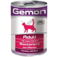 Фотография товара Корм для кошек Gemon Cat Adult, 415 г, говядина