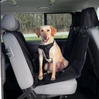Фотография товара Автомобильная подстилка для собак Trixie Car Seat Cover, размер 145х160см., черный