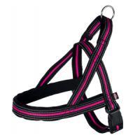 Фотография товара Шлейка для собак Trixie Fusion Norwegian M, черный / розовый