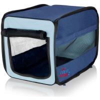 Фотография товара Сумка-переноска для собак и кошек Trixie Twister Mobile Kennel S, размер 31х33х50см., синий