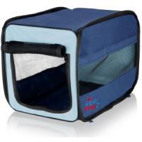 Фотография товара Сумка-переноска для собак и кошек Trixie Twister Mobile Kennel M, размер 45х45х64см., синий