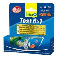 Фотография товара Тест для воды Tetra  6 in 1