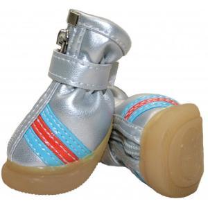 Обувь для собак Triol 104YXS, размер 4, размер 7.5см., серебристый