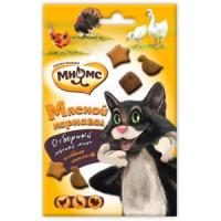Фотография товара Лакомство для кошек Мнямс Мясной карнавал, 60 г, утка, индейка, курица